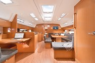Interior of a yacht charter in Corsica 1