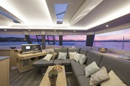 Interior of a yacht charter in Murcia 3
