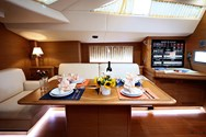 Interior of a yacht charter in Krvavica 1