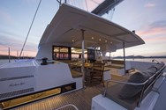 Interior of a yacht charter in Murcia 1