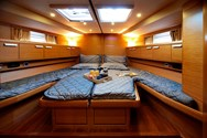 Interior of a yacht charter in Krvavica 3