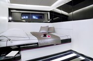 Interior of a yacht charter in the Azores 2
