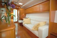 Interior of a yacht charter in Balearic Islands 3
