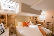 Interior of a yacht charter in Italy 3