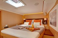 Interior of a yacht charter in Greece 3