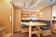 Interior of a yacht charter in St Martin 1