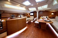 Interior of a yacht charter in Krvavica 2