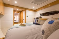 Interior of a yacht charter in Malta 1