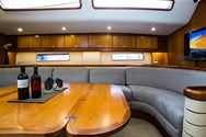 Interior of a yacht charter in Tenerife 1