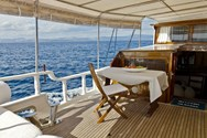 Interior of a yacht charter in Marmaris 2