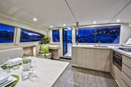 Interior of a yacht charter in Murter 4