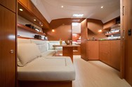 Interior of a yacht charter in Russia 1