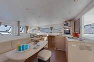 Interior of a yacht charter in Formentera 1