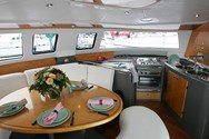 Interior of a yacht charter in Portoroz 3