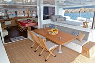 Interior of a yacht charter in Didim 2