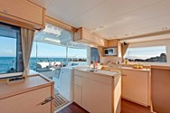 Interior of a yacht charter in Lanzarote 3