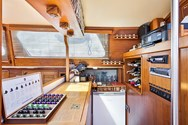 Interior of a yacht charter in Turkey 2
