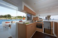 Interior of a yacht charter in Skiathos 1