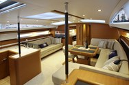 Interior of a yacht charter in Thailand 2