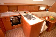 Interior of a yacht charter in the South of France 3