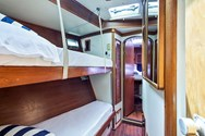 Interior of a yacht charter in Turkey 3