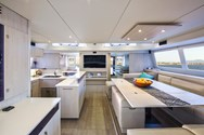 Interior of a yacht charter in Sibenik 3