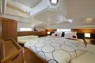 Interior of a yacht charter in Portugal 1
