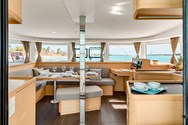 Interior of a yacht charter in Punta Ala 2