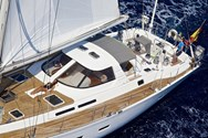 Exterior of a yacht charter Tenerife 2