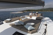 Interior of a yacht charter in Ajaccio 1