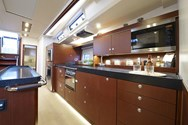 Interior of a yacht charter in Levante 2