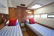 Interior of a yacht charter in Sibenik 1