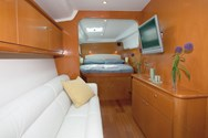 Interior of a yacht charter in Menorca 2