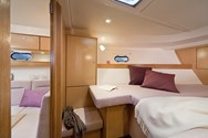 Interior of a yacht charter in St Martin 3