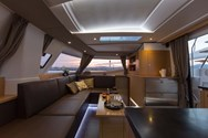 Interior of a yacht charter in Canary Islands 2