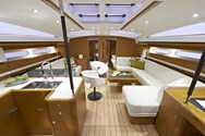 Interior of a yacht charter in Spain 1