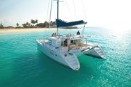 Exterior of a yacht charter Menorca 1