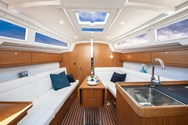Interior of a yacht charter in Trogir 1