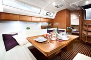 Interior of a yacht charter in Pula 2