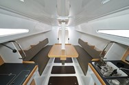 Interior of a yacht charter in Naples 1