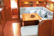 Interior of a yacht charter in Rhodes 3