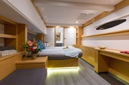 Interior of a yacht charter in Gothenburg 1