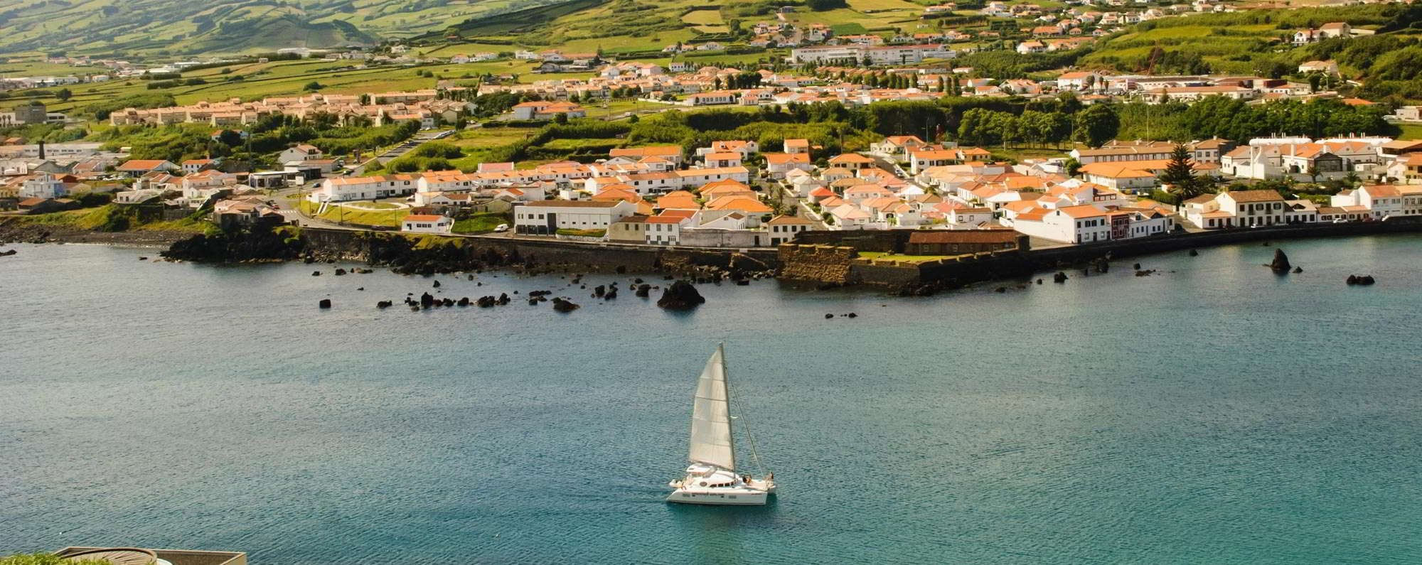 Yacht charter in Azores