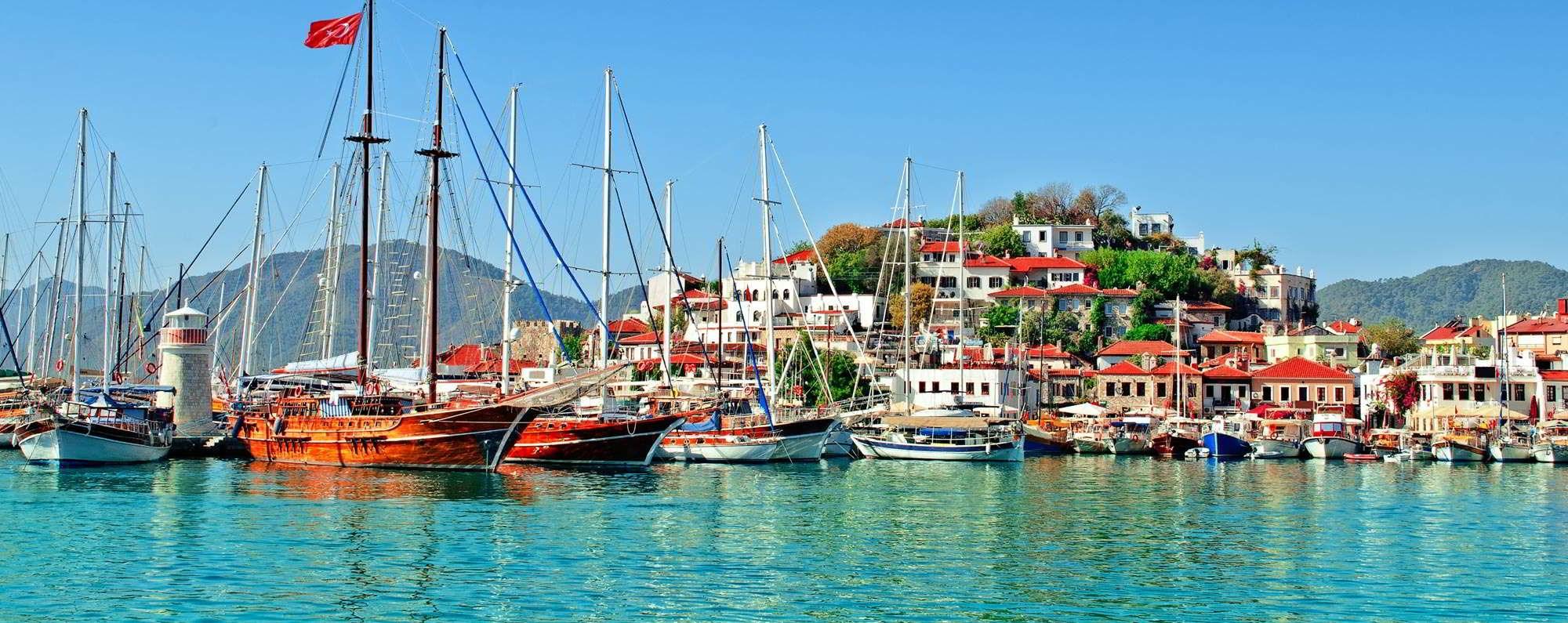 Yacht charter in Marmaris