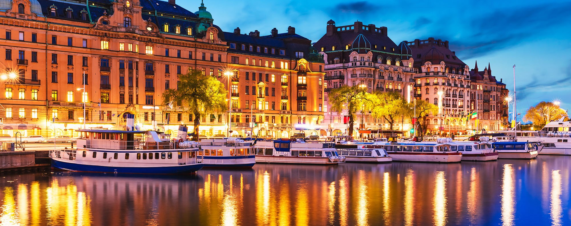 Yacht charter in Sweden