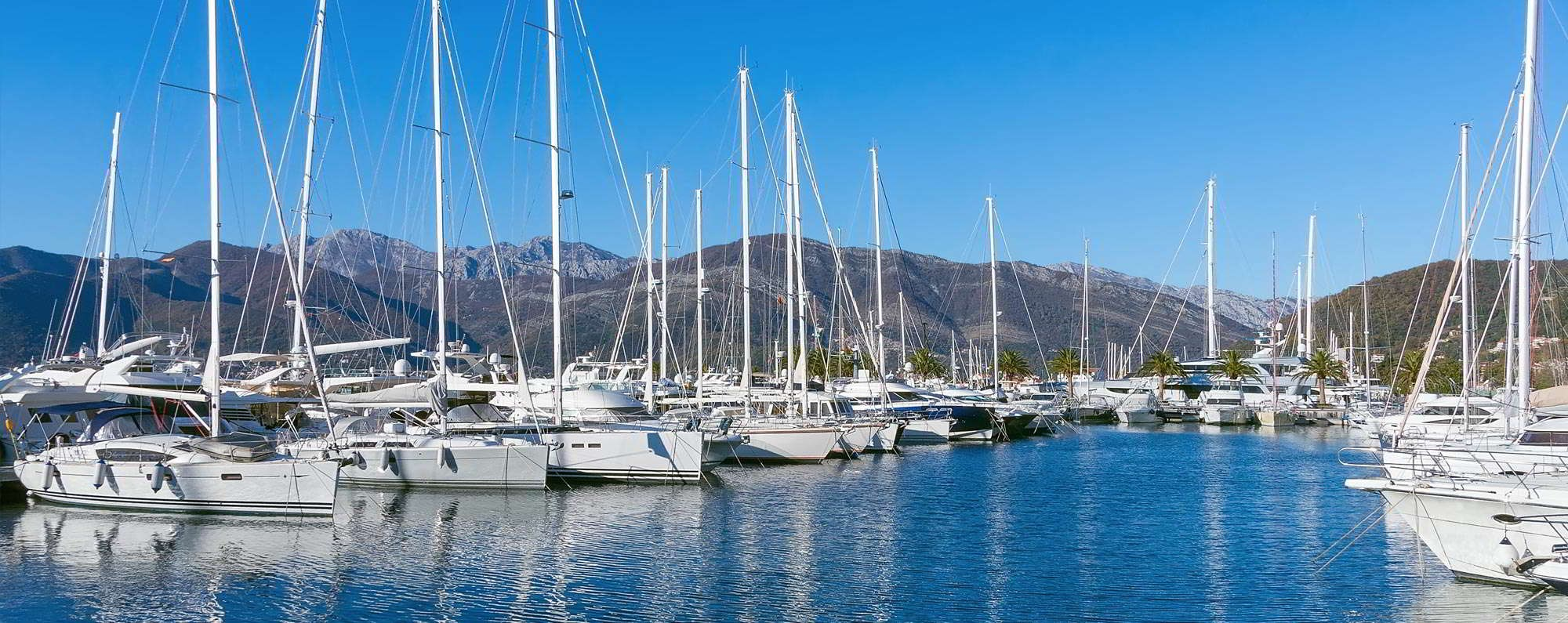 Yacht charter in Tivat